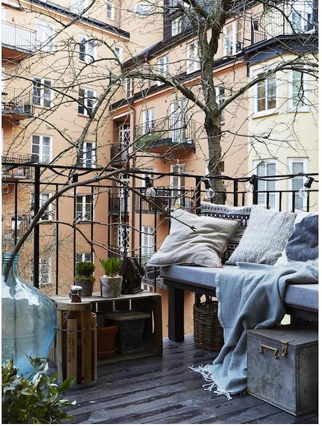 7 оригинальных идей по облагораживанию балкона