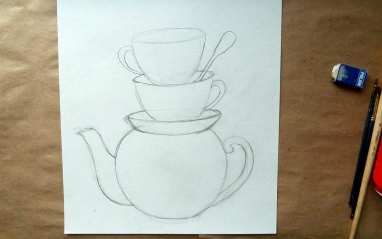 Рисуем картину для кухни