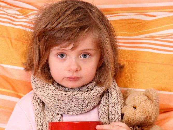 Кашель у ребенка: лечение народными методами