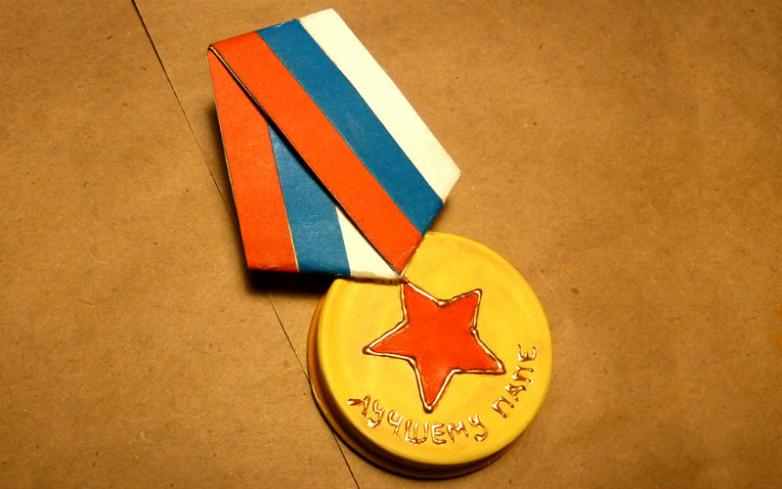 Как сделать военную медаль своими руками 98