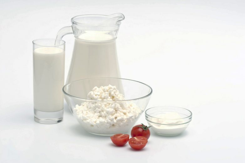 Молочные продукты для детей фото
