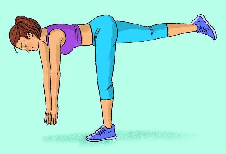 Упражнения, которые помогут вам прокачать ягодицы и бедра