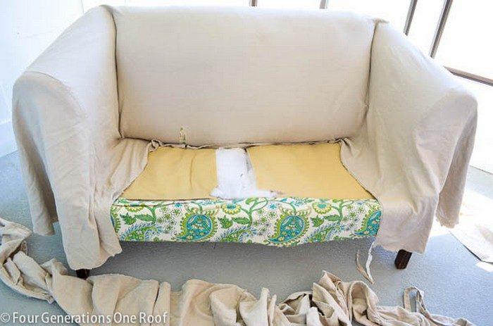 Менять обивку дивана своими руками