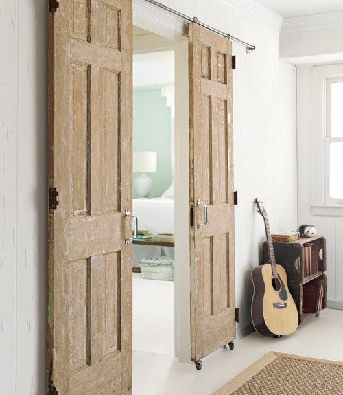 Как сделать раздвижные межкомнатные двери своими руками