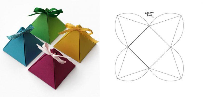 Коробочка для подарка своими руками из бумаги видео