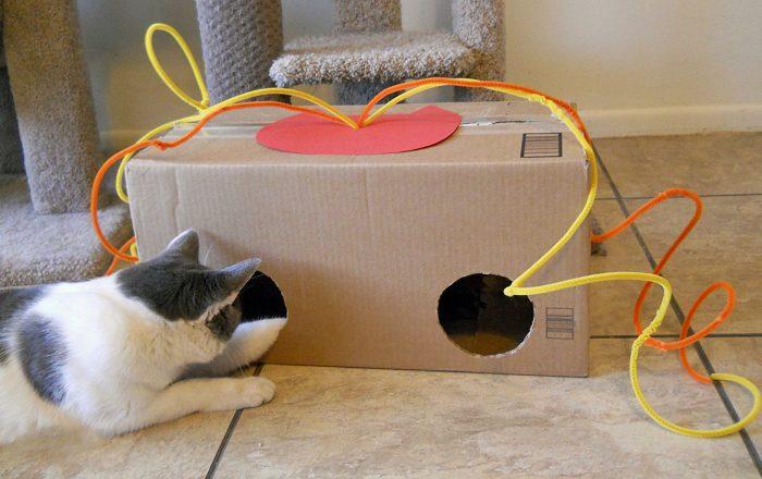 Сделать игрушку кошки своими руками