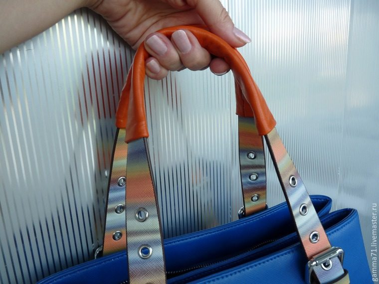 Как отремонтировать ручки любо сумки: udav102