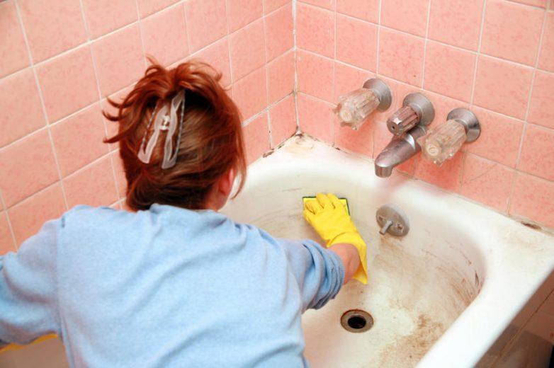 Как сделать ванну белоснежной в домашних