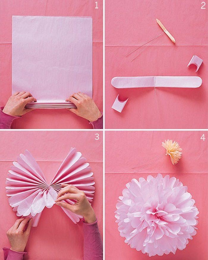 Как сделать из бумаги цветок своими руками