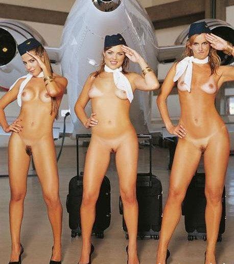 смотреть фото голых стюардесс