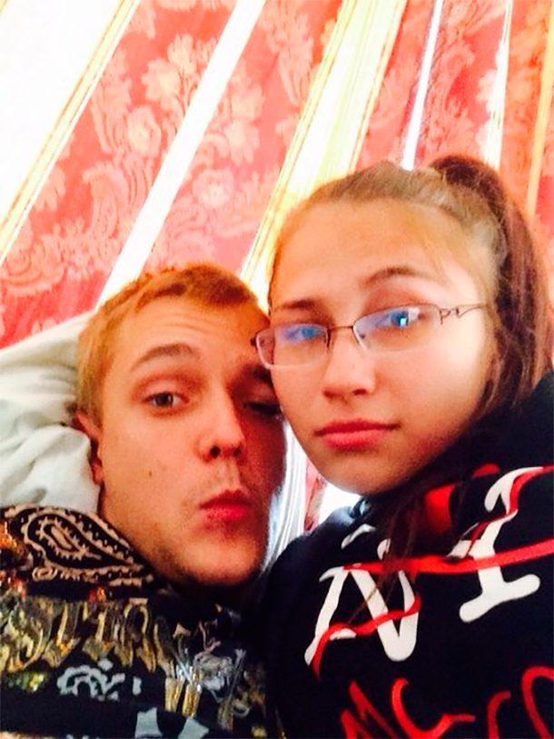 Русская девушка целуется 12 фотография