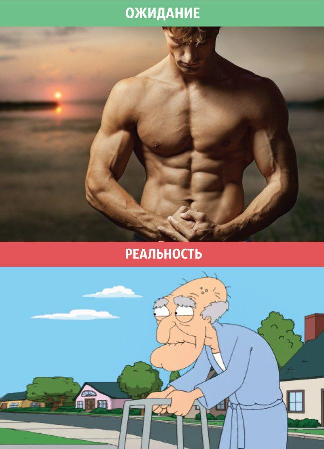 Мужчины: ожидания и реальность