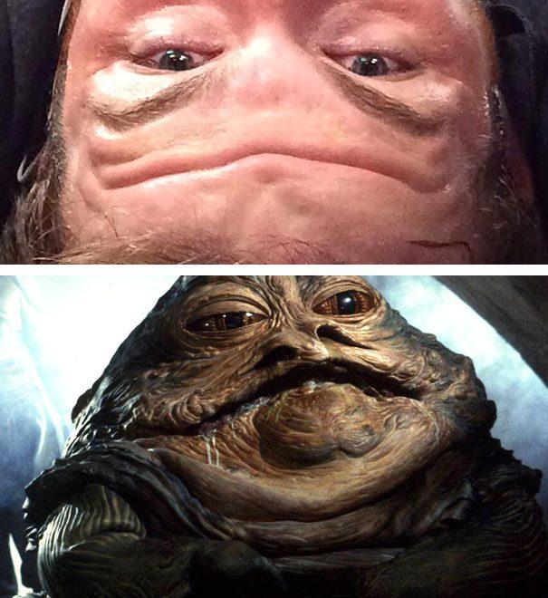 Funny similarity