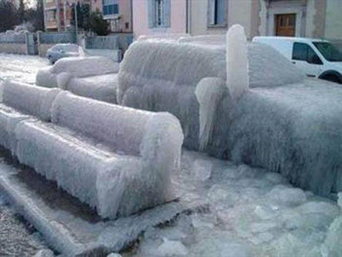 Прикольная Зима