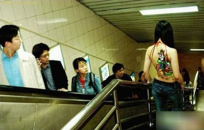 Такое можно увидеть только в Китае