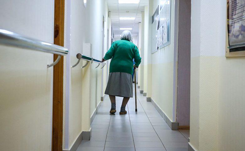 Работа с престарелыми в домах интернатах