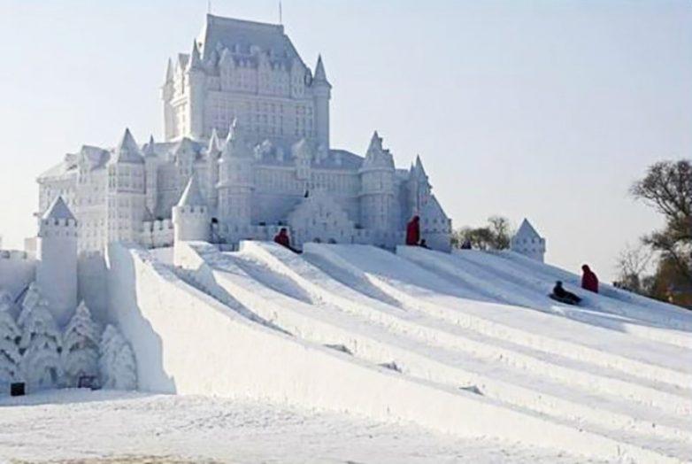 Картинки по запросу снежный замок шато фронтенак