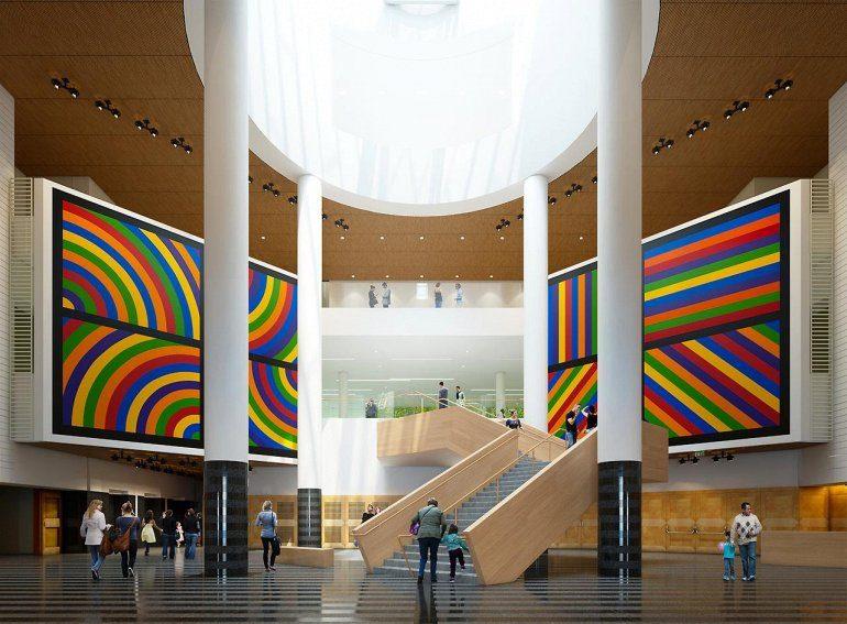 museum visit contemporary art