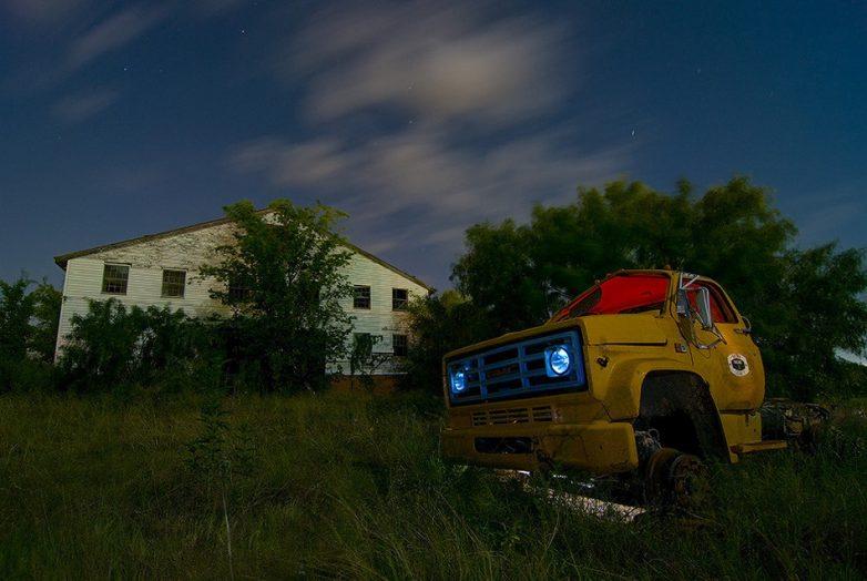 Атмосферная заброшенная Америка на снимках профессионального фотографа