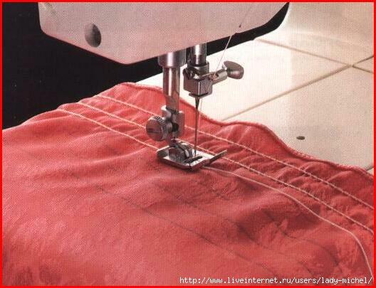 Видео как научится шить на швейной машинке