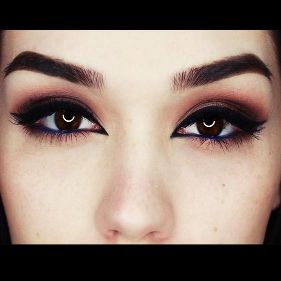 Красивые макияжи для черных глаз