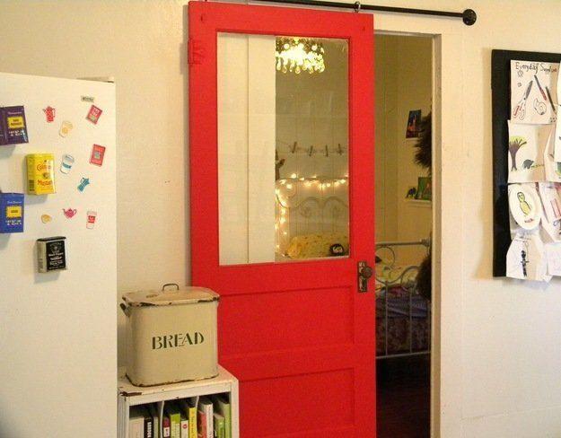 Сделать распашные двери своими руками 74