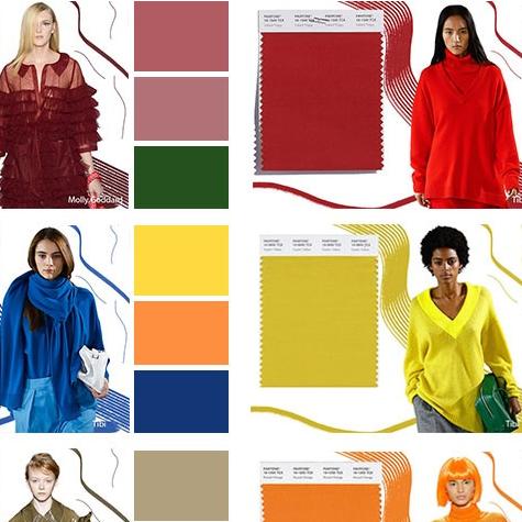Самые модные цвета сезона осень-зима