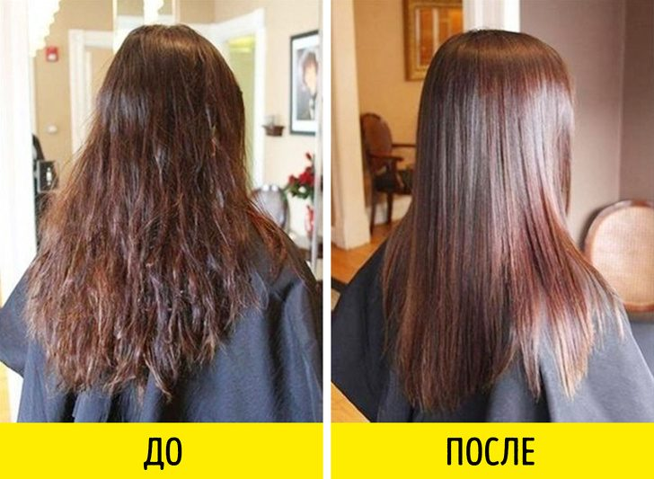 Хитрости по уходу за волосами