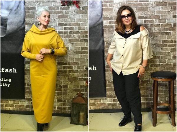 Повседневные наряды для женщин 45+