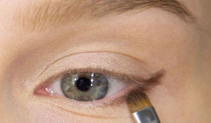 Рельефная техника макияжа для глаз