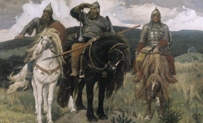 Русских богатырей из былин объявили украинцами