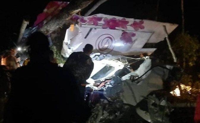 В Иркутской области рухнул пассажирский самолёт