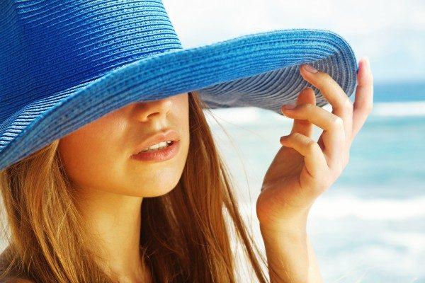 Красотка в шляпе