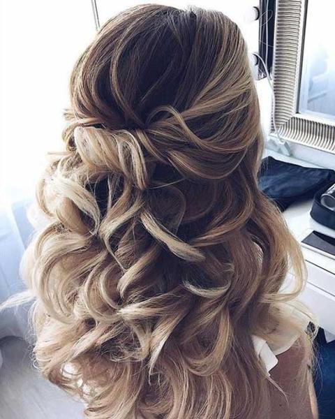 Объёмные причёски на длинные волосы