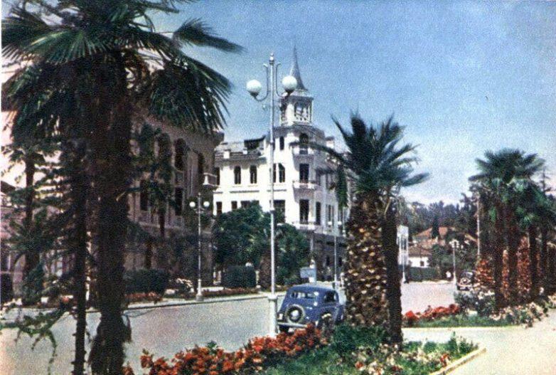 СССР 1954 год в цветных фотографиях