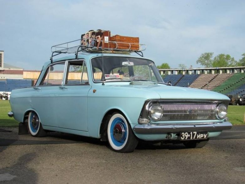 Советский тюнинг авто