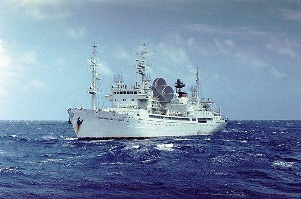 Морской космический флот Советского Союза