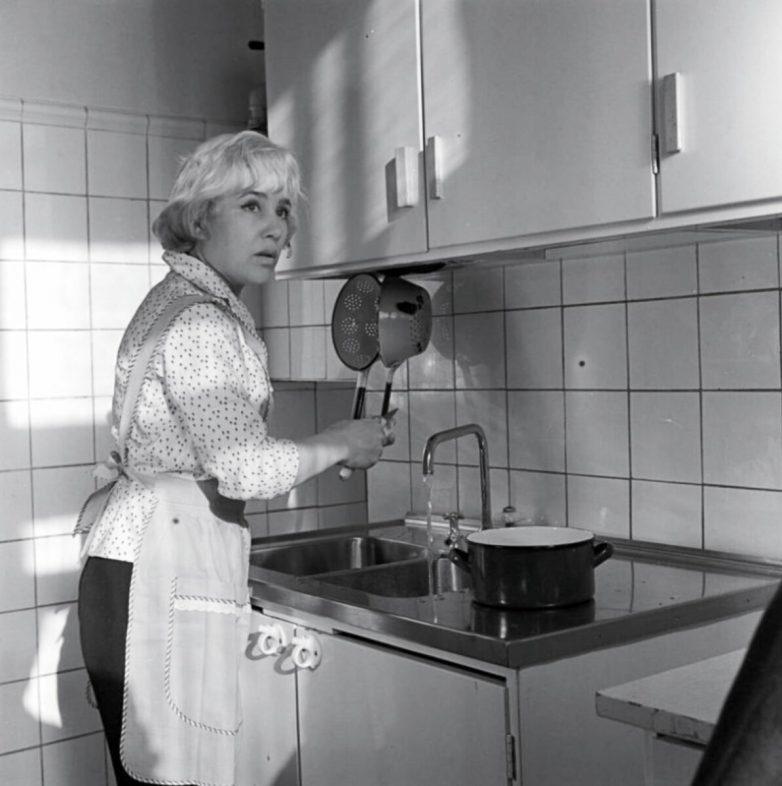 Какие были кухни у советских актёров?