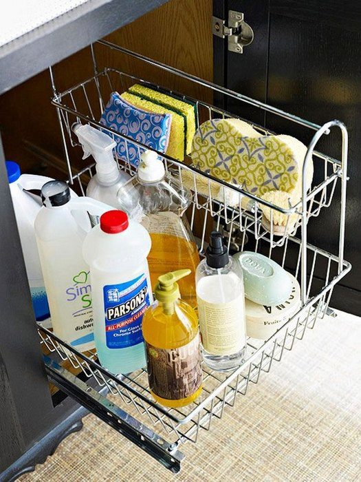 079162eedd Стильные и практичные системы хранения для кухни Фото