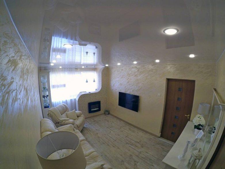 555b07eea1 Ремонт большой комнаты в трешке Фото