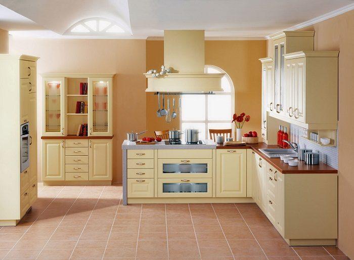 b7b5196eb9 Подбираем цвета для кухонных шкафов Фото