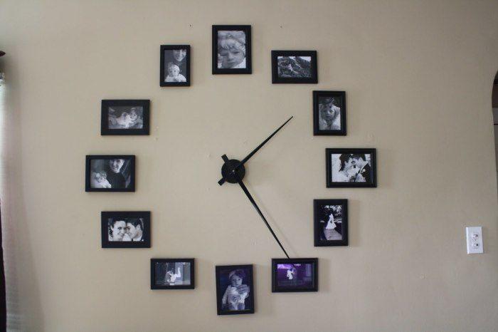 2106797e94 Идеи для размещения фотографий на стенах Фото