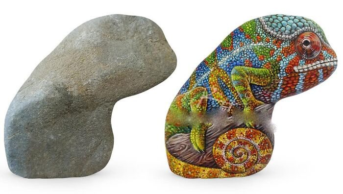 Художник, который оживляет камни