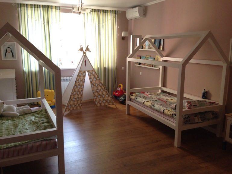 Кровать-домик для дошкольника
