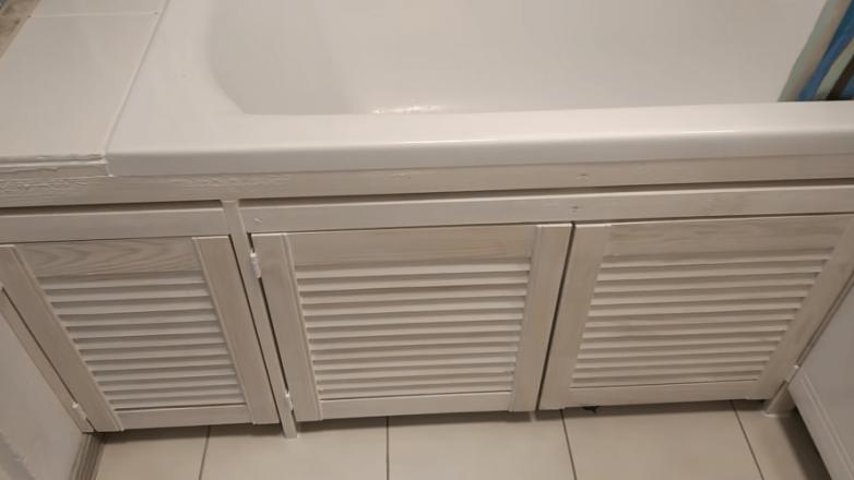 Бюджетный способ обшить ванну
