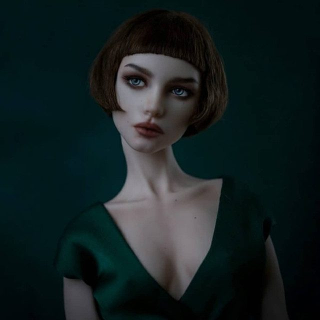 Шарнирные куклы от украинской художницы Elsyn