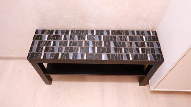 Стильная трансформация столика из Икеа