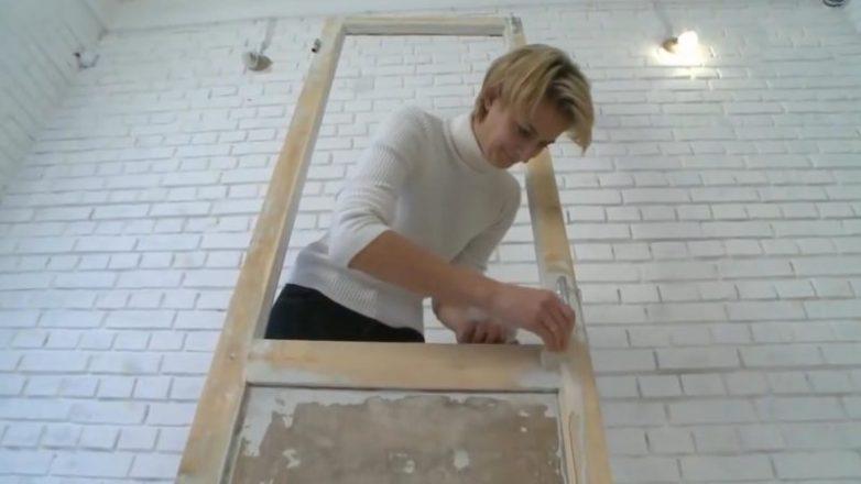 Гениальное преображение старой двери