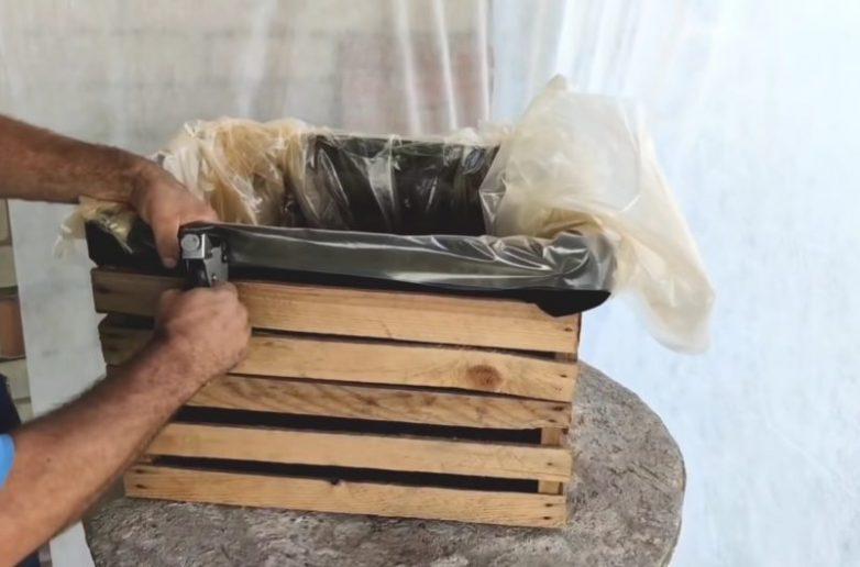 Идея переделки трёх деревянных ящиков