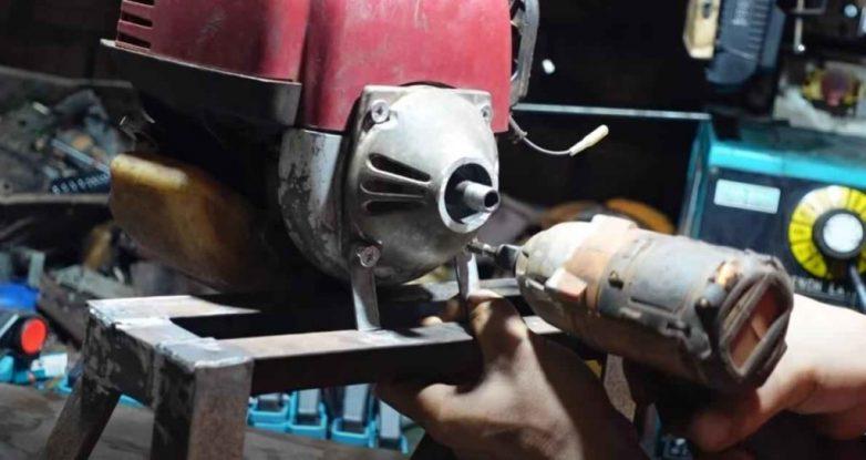 Мастерим измельчитель из бензинового триммера